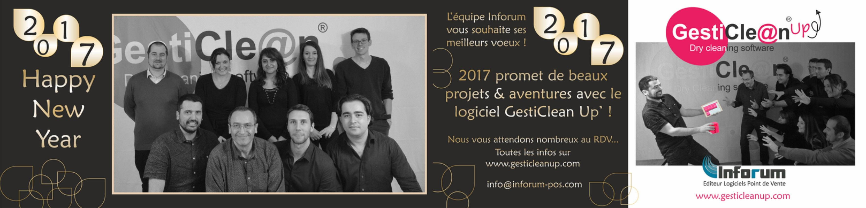 Carte de vœux Inforum 2017